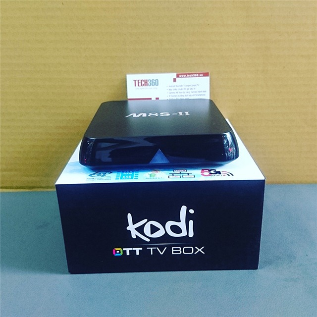 android tv box m8s-ii