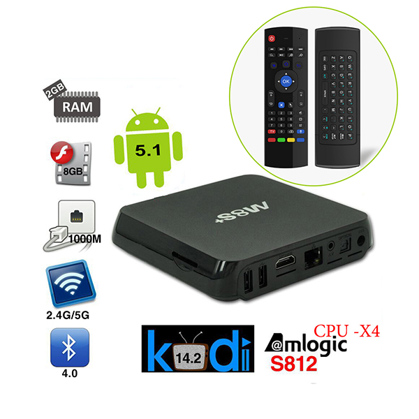 android tv box m8s plus