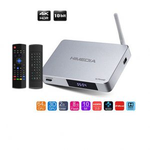 ANDROID TV BOX HIMEDIA Q5 PRO 4K + CHUỘT BAY KM800