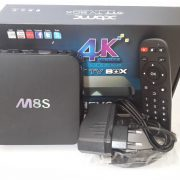 ANDROID TV BOX MBOX M8S AMLOGIC S812