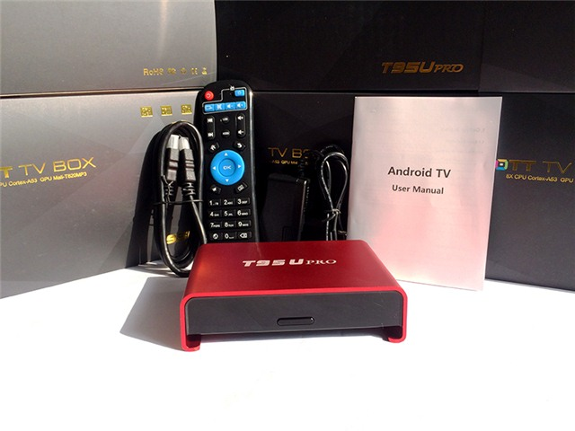 android tv box sunvell t95u
