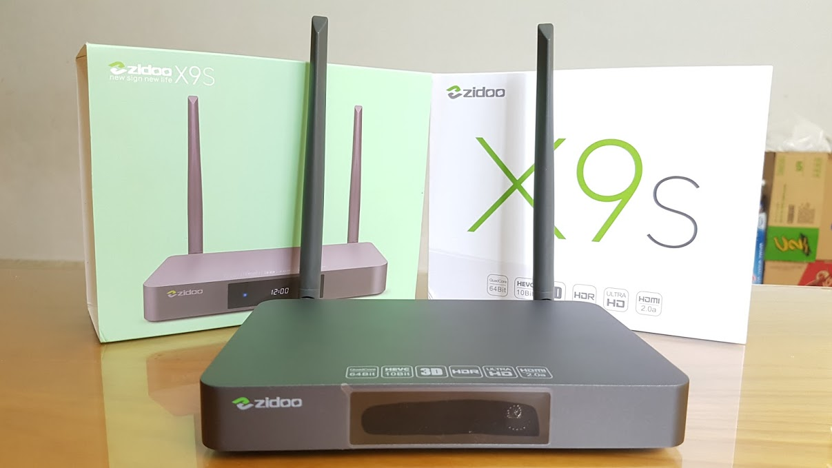 ANDROID TV BOX ZIDOO X9S – ANDROID 6.0 CHIPSET REALTEK 1295D 64BIT