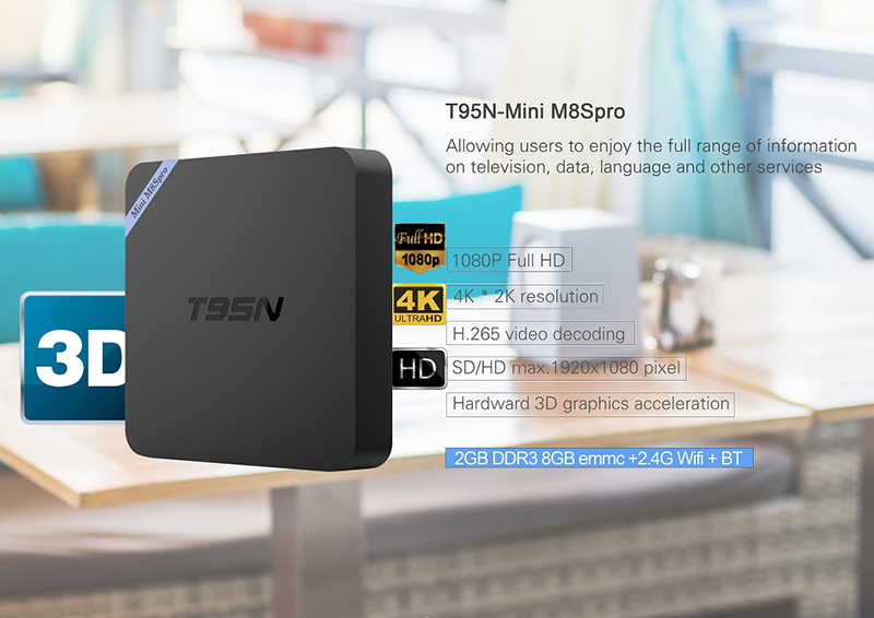 android tv box sunvell t95n