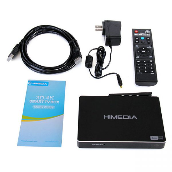 Android TV Box Himedia A5  Android 6.0 RAM 2G, ROM 16G