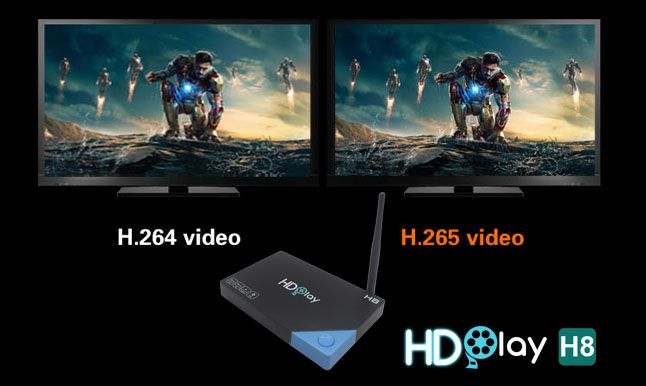 android tv box hdplay h8 ram 2g